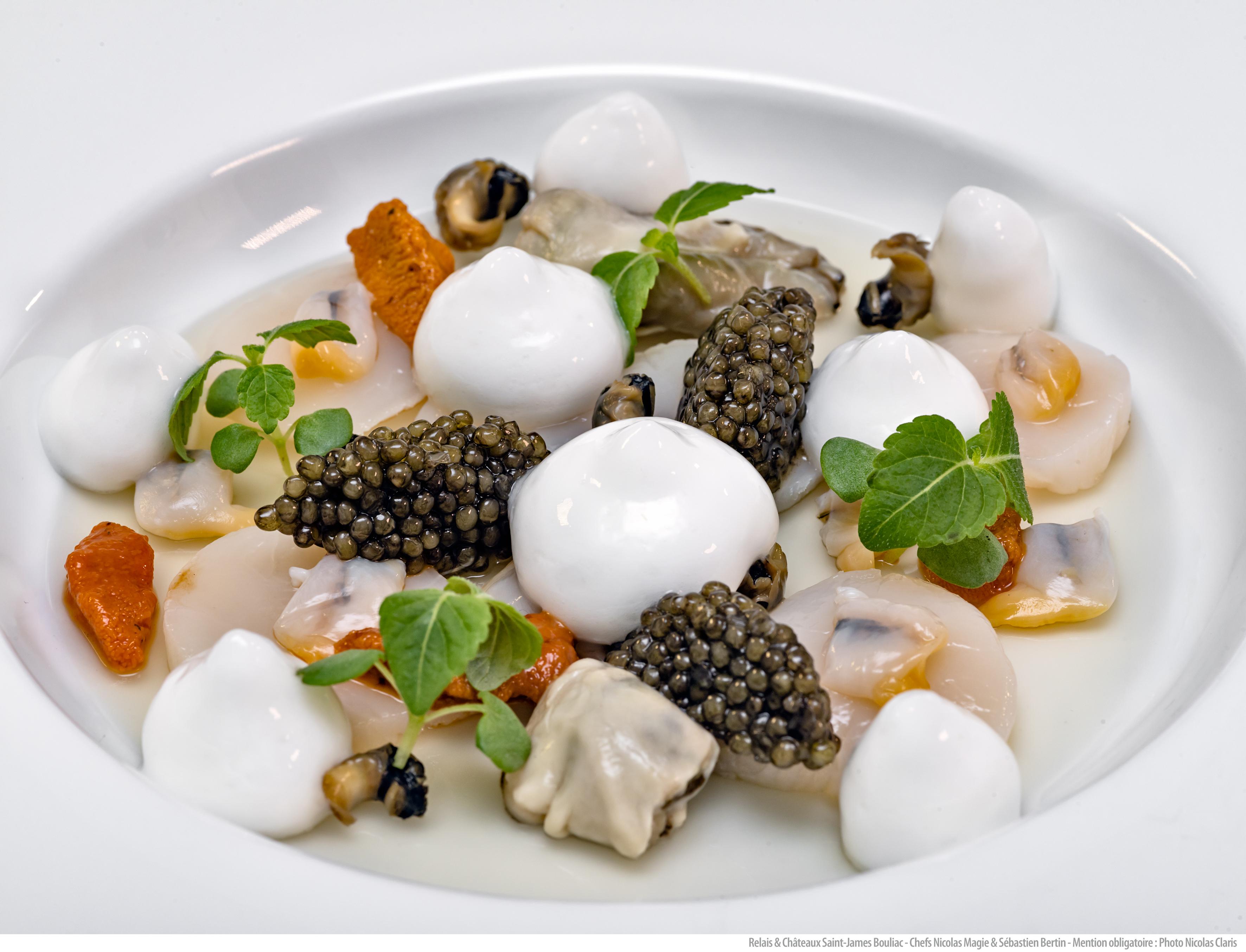 recette caviar lagrave martillac