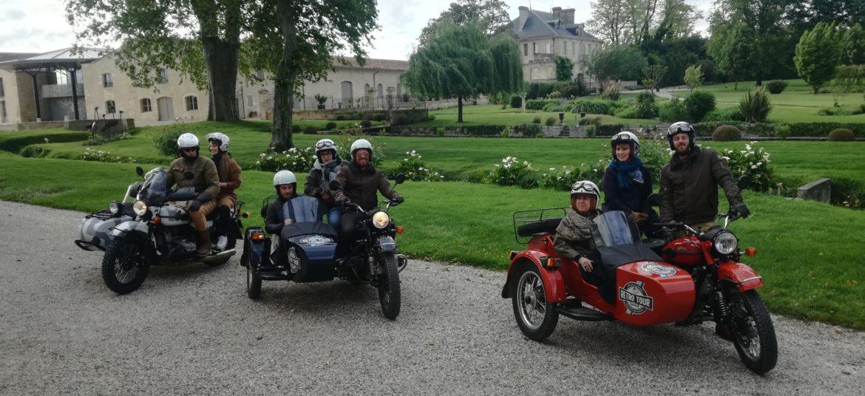 Château Kirwan side car