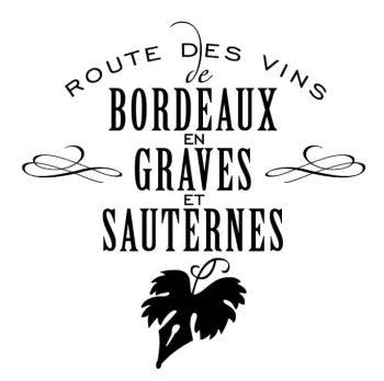ROUTE DES VINS DE BORDEAUX EN GRAVES ET SAUTERNES logo