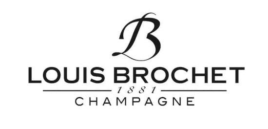 Logo des champagnes Louis Brochet, client hémisphère Sud, relations presse Bordeaux